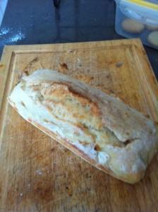 לחם לבן בתנור