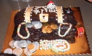 עוגת תיבת אוצר